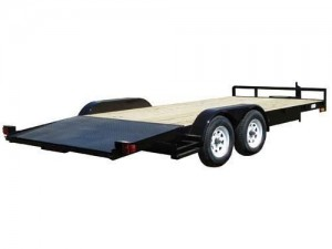 Carmate Angle Iron II Open Car Trailer