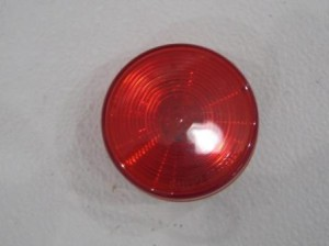 red round marker light