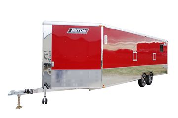 Triton Lowboy Enclosed Trailer - 24'