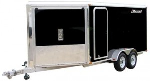 Triton Prestige Enclosed Snowmobile Trailer