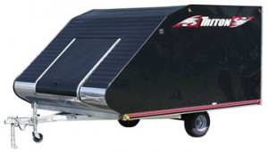 Triton TC 118 Enclosed Trailer