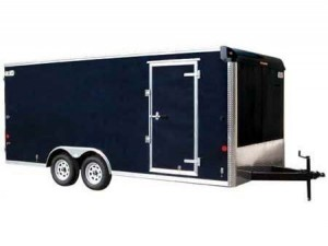 Car Mate 8 Foot HD Custom Cargo Trailer