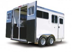Featherlite 9407 Horse & Livestock Trailer