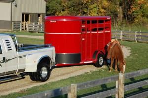 Moritz SR Series Horse & Livestock Trailer