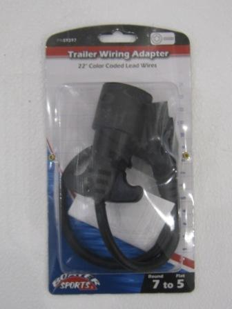 7 to 5 trailer wiring adapter
