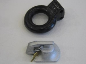 pintle ring  and lock