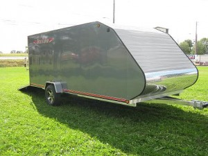 Triton TC 167 - Enclosed Snowmobile Trailer