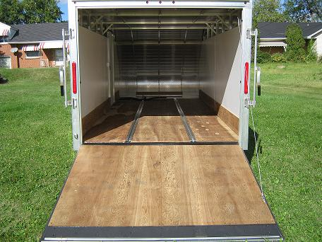 Triton Tc 167 Enclosed Snowmobile Trailer