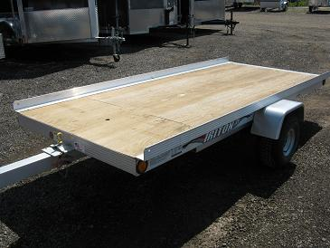 Triton XT 4.5x10 Open Snowmobile Trailer