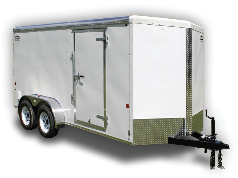 Car Mate 7x14 HD V Sport Enclosed Trailer