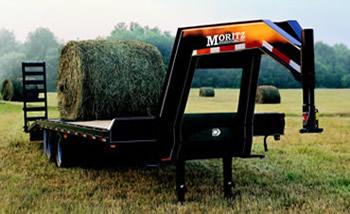 Moritz F Series Equipment & Flatbed Trailer