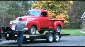 Car Mate Vintage Car Trailer